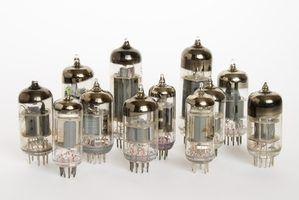 Sinais de um tubo pré-amplificador soprado