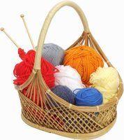 Simples idéias de padrão de malha para bazares de artesanato