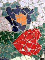 Artesanato em mosaico simples para as crianças