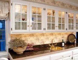 Simples bares molhados para colocar em sua casa