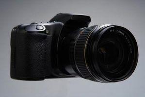 Slr peças e funções da câmera