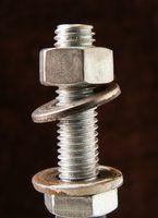 Especificações de torque dos parafusos de fixação métrica pequenos