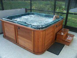 Painéis solares para banheiras de hidromassagem
