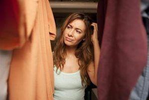 Soluções para um armário rasa