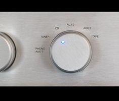 Especificações de um aparelho de som yamaha r-8