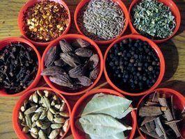Especiarias encontrado na indonésia