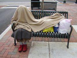 Há uma série de abrigos na área de Stockton.