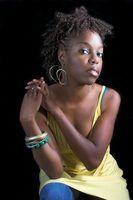 Estilos de cabelo natural americano africano