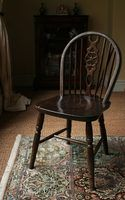 Estilos de cadeiras antigas