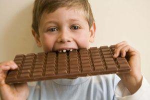 Os sintomas de intolerância ao chocolate