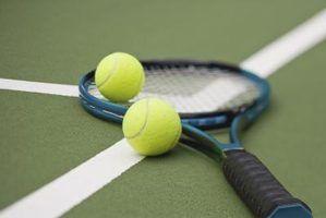 Regras de tênis para os desafios