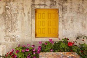 Opções de textura para paredes de concreto exteriores