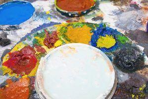 As vantagens e desvantagens de tinta a óleo