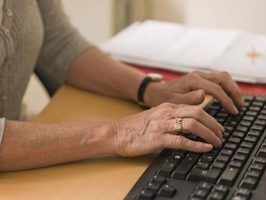 As vantagens do processamento de texto mais de uma máquina de escrever convencional
