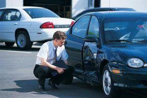 O salário médio de um avaliador danos automóvel