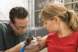 O salário médio tatuador