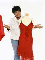 O melhor estilo de vestido para uma mulher tamanho 14