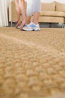 Alguns tapetes são mais duráveis do que outros tapetes.
