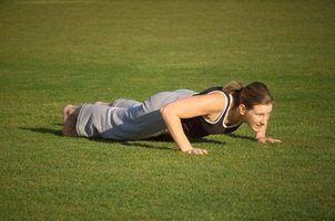 Os melhores flexões para músculos do peito