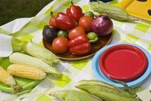 Os melhores temperos para legumes assados