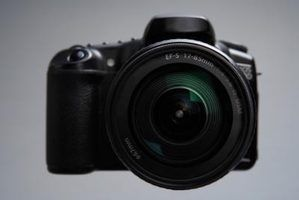 As câmeras canon e nikon mais vendidos