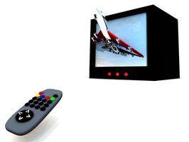 Os componentes de tvs