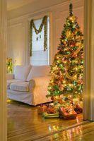 Os perigos de luzes da árvore de natal