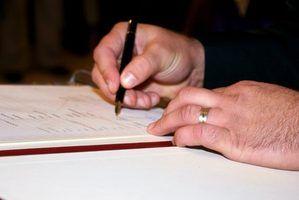 As diferenças entre um notário público e um agente de assinatura notário