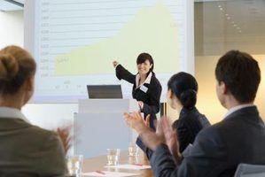 Quais são os elementos-chave de uma apresentação em powerpoint?
