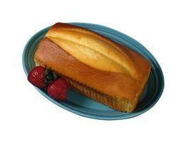 As diferenças de gosto entre pão de ló, bolo de libra & loaf cake