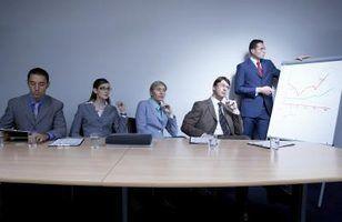 As desvantagens de uma apresentação do grupo
