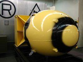 Algumas bombas emitem altos níveis de raios gama quando detonadas.