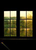 As desvantagens de janelas de vinil