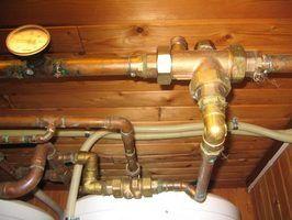 Texas códigos de construção para um aquecedor de água quente