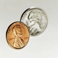 O efeito do vinagre em moedas