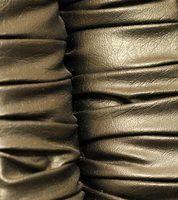 Os efeitos de álcool isopropílico em couro