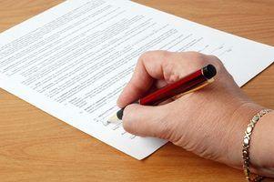 As leis da geórgia sobre o cancelamento de um contrato