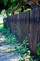 As indiana códigos de construção estaduais para uma cerca de madeira