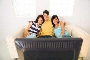 A influência e efeitos da televisão sobre os jovens