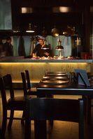 Os requisitos de iluminação em restaurantes