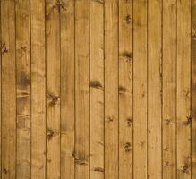 As opções para revestimento de parede de madeira