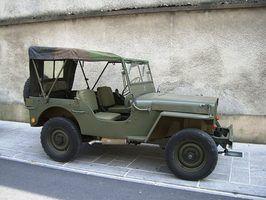 As cores originais de um jeep willys 1943