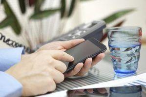Os componentes e funções de um telefone