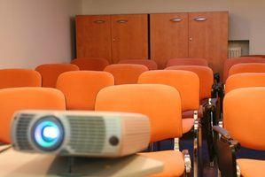 As partes de um projector