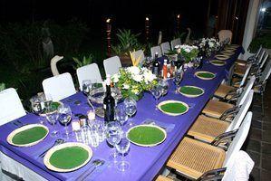 Os planos e medidas para como criar uma sala de mesa e cadeiras de jantar