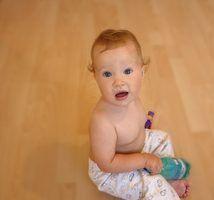 As razões para um bebé não dormir