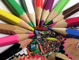 As regras para um concurso de pintura para crianças