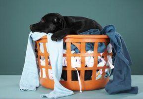 Você pode abrir espaço para máquinas de lavar em uma pequena casa com uma máquina de lavar empilháveis e secar roupa.