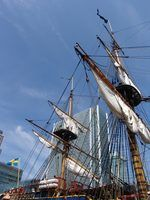 Os tipos de navios no século 18