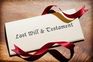 Coisas a considerar quando se escreve um testamento